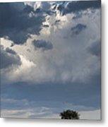 Clouds Over Maasai Mara, Kenya Metal Print