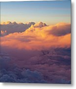 Colorful Clouds Metal Print