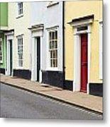 Colorful Houses Metal Print