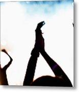 Concert Crowd Metal Print