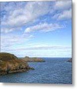 Cornwall - Rumps Point Metal Print