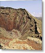 Corona Volcano On Lanzarote Metal Print