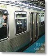 Cta's Retired 2200-series Railcar Metal Print