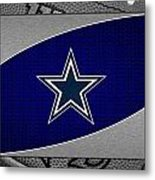 Dallas Cowboys Metal Print by Joe Hamilton