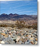 Death Valley Mountains Metal Print