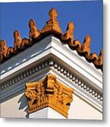 Decorative Roof Tiles In Plaka Metal Print