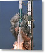 Delta II Rocket Launch Metal Print
