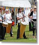Dende Nation Samba Drum Troupe Metal Print