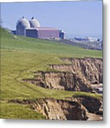 Diablo Canyon Nuclear Power Station Metal Print