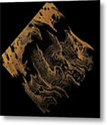 Diamond 104 Metal Print