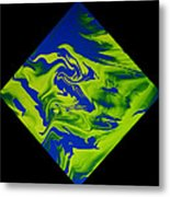 Diamond 210 Metal Print