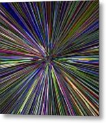 Digital Abstract Metal Print