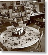 Diner On Route 66 Metal Print