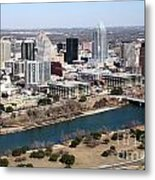 Downtown Austin Metal Print