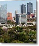 Downtown Fort Worth Texas Metal Print