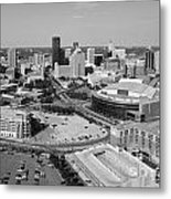 Downtown Skyline Of St. Paul Minnesota Metal Print