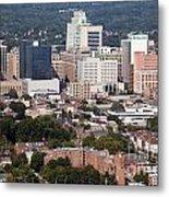 Downtown Skyline Of Wilmington Metal Print