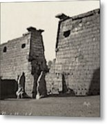 Egypt Luxor Temple Metal Print