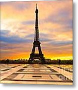 Eiffel Tower - Paris Metal Print