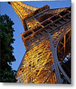 Eiffel Twilight Metal Print