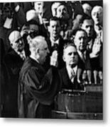Eisenhower Inauguration Metal Print