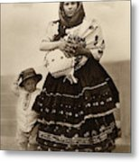 Ellis Island Women, C1910 Metal Print