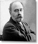 Emile Zola (1840-1902) Metal Print