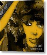 Empires Naomi Campbell Camilla Metal Print