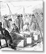 Execution Of Conspirators Metal Print