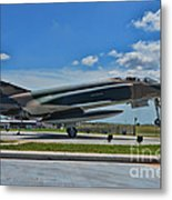 F-4 Phantom II Metal Print