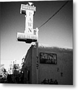 famous gold and silver pawn shop downtown Las Vegas home to the tv series pawn stars Nevada USA Metal Print