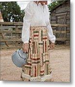 Farm Woman  Metal Print