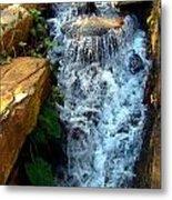 Finlay Park Waterfall 2 Metal Print