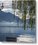 Flooding Lake Metal Print