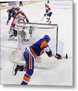 Florida Panthers V New York Islanders - Metal Print