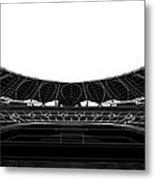 Football Soccer Stadium Metal Print