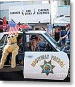 Ford Diplomat Police Car Metal Print