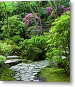 Garden Path Metal Print by Brian Jannsen