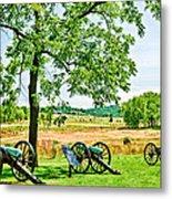 Gettysburg Battleground Metal Print