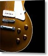Gibson Les Paul Metal Print