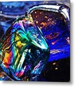 Glass Abstract 682 Metal Print