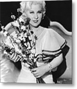 Goin To Town, Mae West, 1935 Metal Print