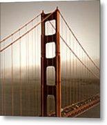Lovely Golden Gate Bridge Metal Print