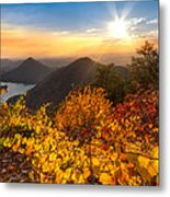 Golden Hour Metal Print by Debra and Dave Vanderlaan
