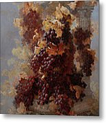 Grapes And Architecture Metal Print