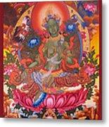 Green Tara 10 Metal Print
