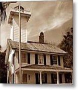Haig Point Lighthouse Metal Print