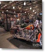 Harley Davidson Metal Print