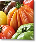 Heirloom Tomatoes Metal Print by Elena Elisseeva