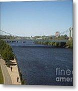 Hennepin Bridge Metal Print